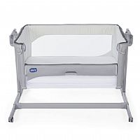 BERÇO PORTÁTIL NEXT2ME MAGIC COOL GREY - CHICCO